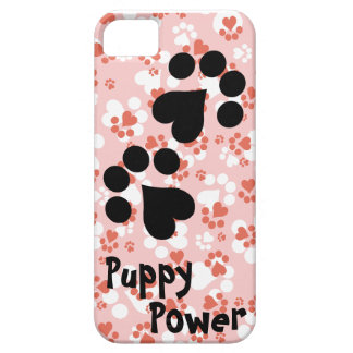 Puppy Power - Paw Prints -  Animal lovers iPhone 5 Case