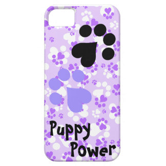 Puppy Power - Paw Prints -  Animal lovers iPhone 5 Cases