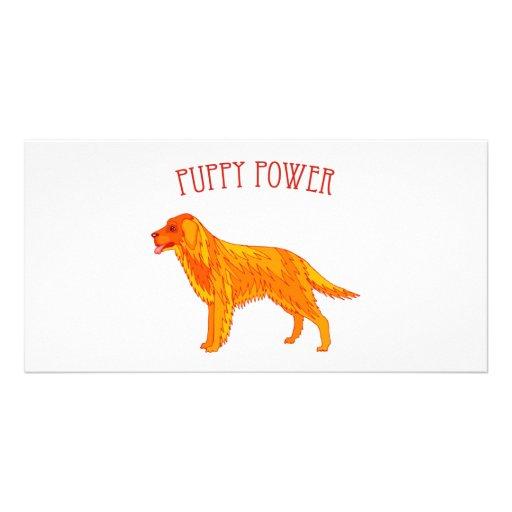 Puppy Power Photo Card