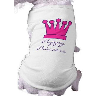 Puppy Princess Crown Doggy Shirt Sleeveless Dog Shirt