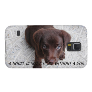 Puppy Quote Galaxy S5 Case