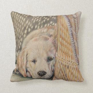 Puppy Sleeping Pillow Throw Cushions