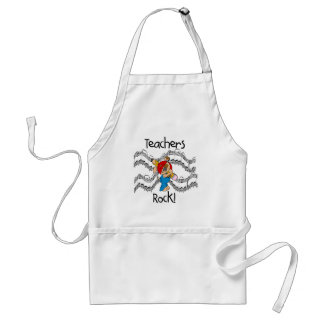 Puppy Teachers Rock Tshirts and Gifts Apron