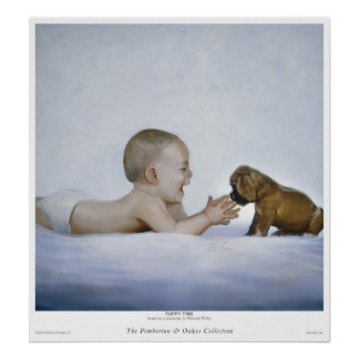 Puppy Time Posters