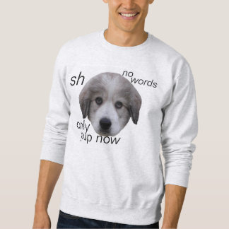 puppy time sweatshirt