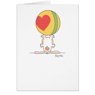 PUPPY TRICK CARD