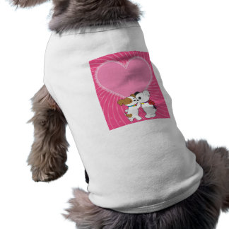 Puppy Valentine Doggie Tshirt