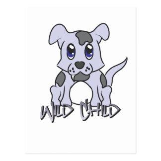 Puppy WC Postcard