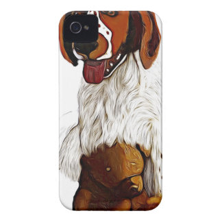 puppy with teddy iPhone 4 cover