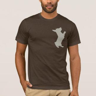PuppyFax Tan T-Shirt