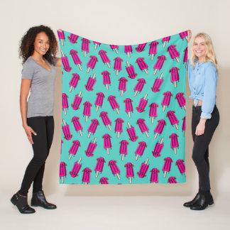 """""""Pupsicle"""" Pattern Fleece Blanket"""
