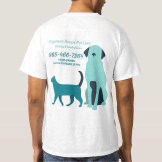 Puptown Resort Pet Care T-Shirt