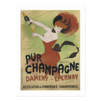Pur Champagne, Damery-Epernay Postcard