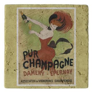 Pur Champagne vintage sparkling wine ad Trivet