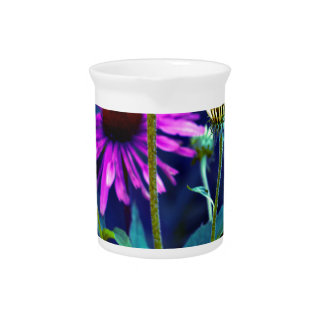 PUR-polarize Coneflowers Beverage Pitcher
