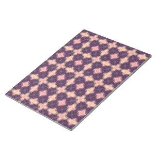 PUR-polarize Kaleidoscope Pattern Notepad