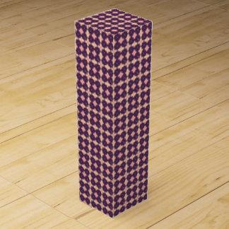 PUR-polarize Kaleidoscope Pattern Wine Gift Box