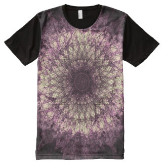 PUR-polarize Mandala All-Over Print T-Shirt