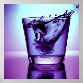 PUR-polarize splash Print