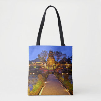 Pura Taman Saraswati Lotus Temple Bali Indonesia Tote Bag