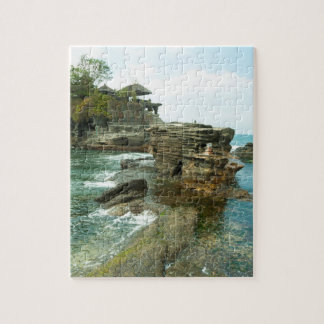 Pura Tanah Lot, Temple on the Rock, Bali Jigsaw Puzzle