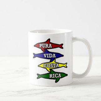 Pura Vida Costa Rica Coffee Mug