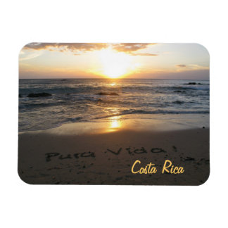 Pura Vida Costa Rica Magnet