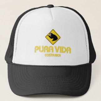 Pura Vida Sloth Crossing Costa Rica Hat