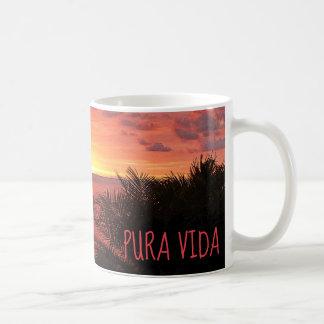 Pura Vida Sunset Sizzle II Poster Coffee Mug