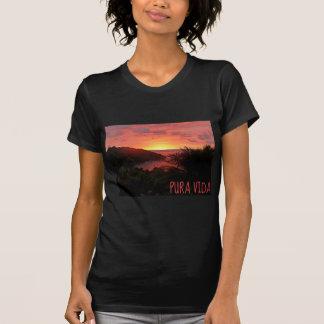 Pura Vida Sunset Sizzle II Poster T-Shirt