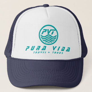 Pura Vida Travel + Tours Logo Hat