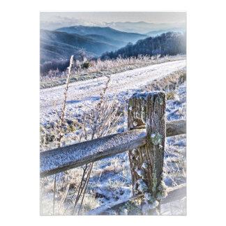 Purchase Knob Winter Scenic View Invites