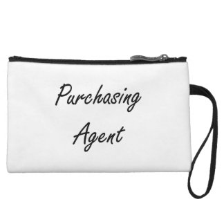 Purchasing Agent Artistic Job Design Wristlet Purses