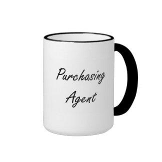 Purchasing Agent Artistic Job Design Ringer Mug