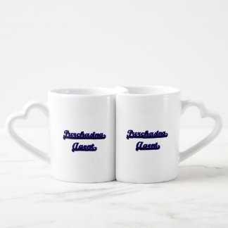 Purchasing Agent Classic Job Design Lovers Mug Set