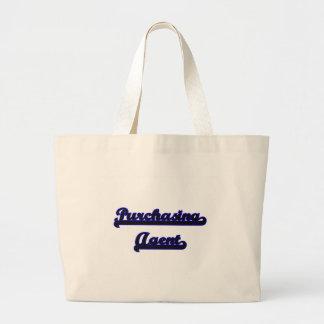 Purchasing Agent Classic Job Design Jumbo Tote Bag