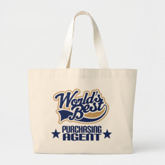 Purchasing Agent Gift Worlds Best Canvas Bags