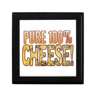 Pure 100 Blue Cheese Small Square Gift Box
