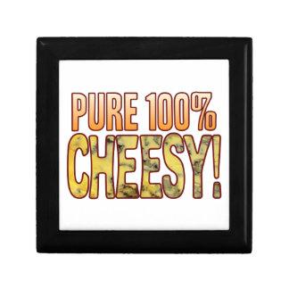 Pure 100 Blue Cheesy Small Square Gift Box