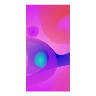 Pure Abstract Custom Photo Card