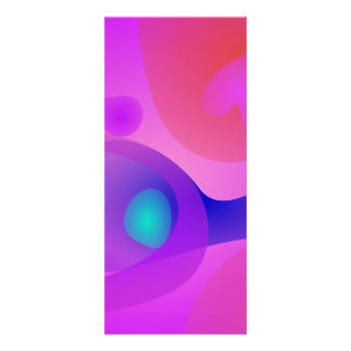 Pure Abstract Personalized Rack Card