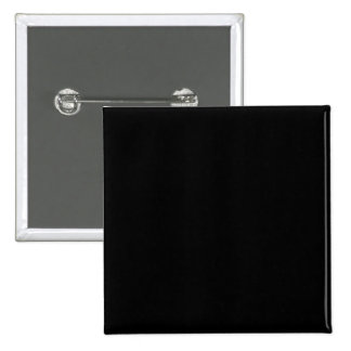 Pure Black Color Trend Blank Template 15 Cm Square Badge