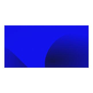 Pure Blue Wind Customized Photo Card