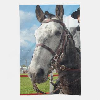 Pure breed horse tea towel