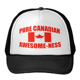 Pure Canadian Awesome-ness Cap