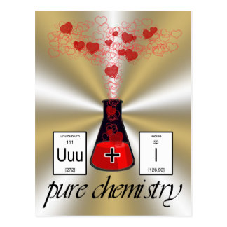 Pure Chemistry Postcard