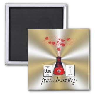 Pure Chemistry Square Magnet