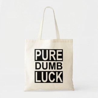 Pure Dumb Luck Tote Bag