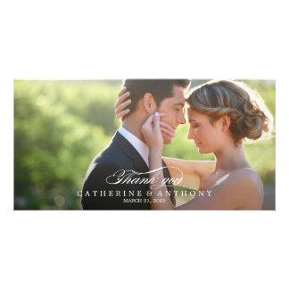 Pure Elegance Wedding Thank You - White Card