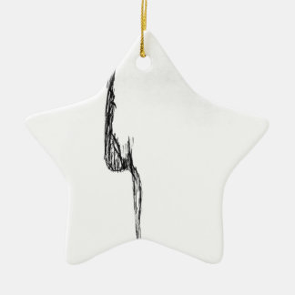 Pure Feeling Ceramic Star Decoration